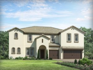 Wimberley model at Estates at Parkside